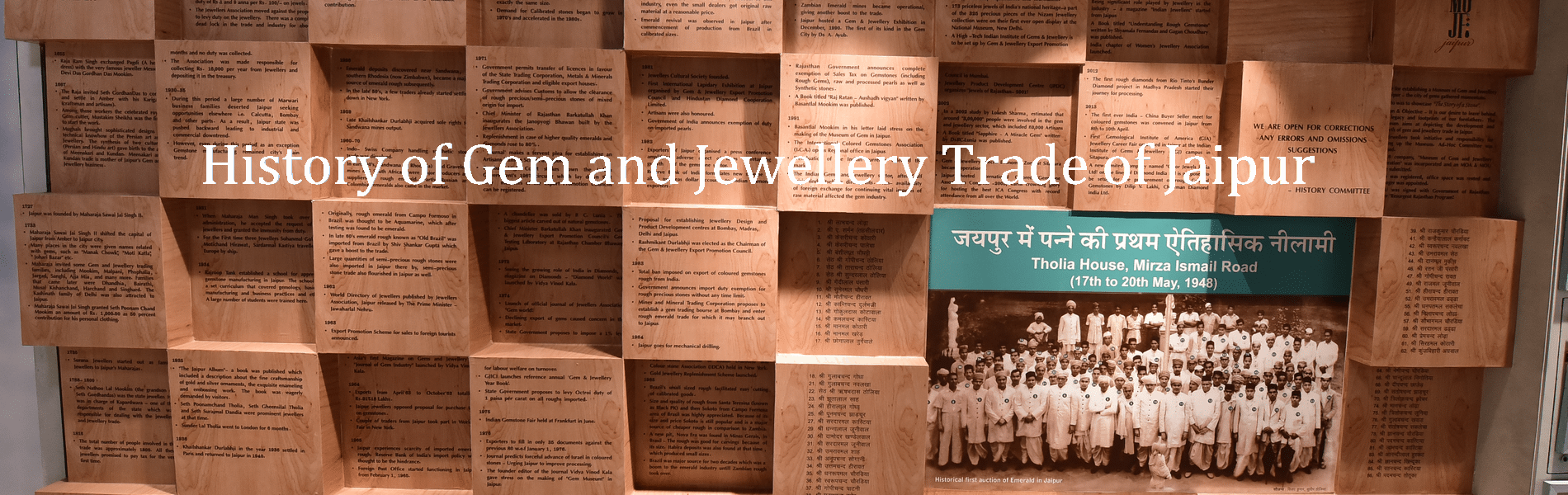 History of Gem and Jewellery Tradr of Jaipur